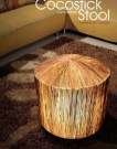 CocoStick Stool Lamp
