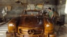 Mercedes Benz 300SL Dibuat dari Kayu Jati – car Made from teak