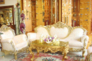 Plutone Sofa Set Gold