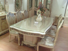 Flower Carved Dining Set