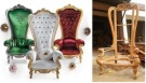 Unfinished Classic King Chairs