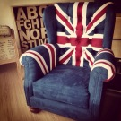 Union Jack Single Chair