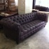 American Style Sofa chesterfield Black